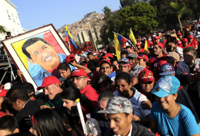 Chavez's Funeral