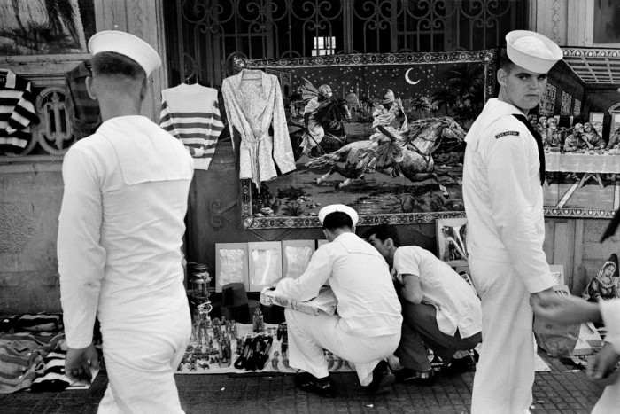 LEBANON. Beirut. Sailors of the US 6th Fleet visiting the city. 1962.